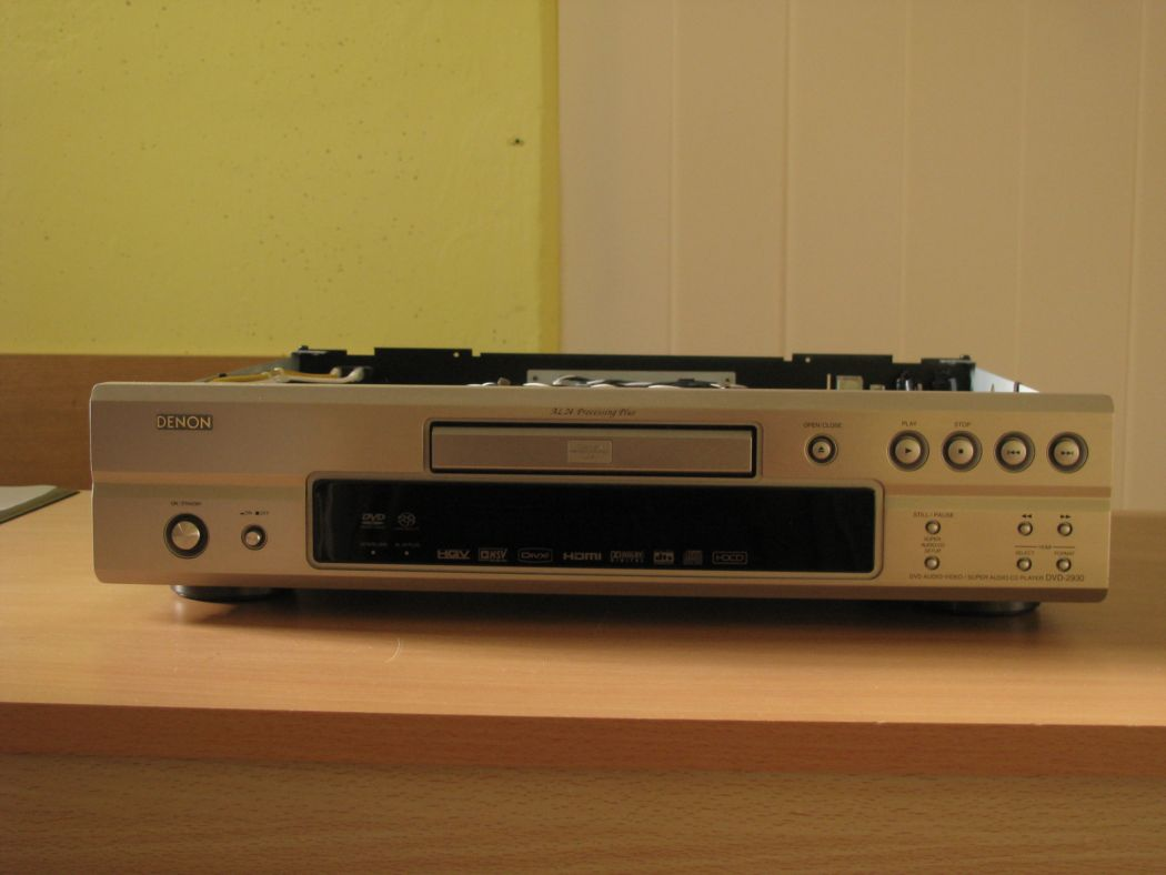CD a DVD - Denon