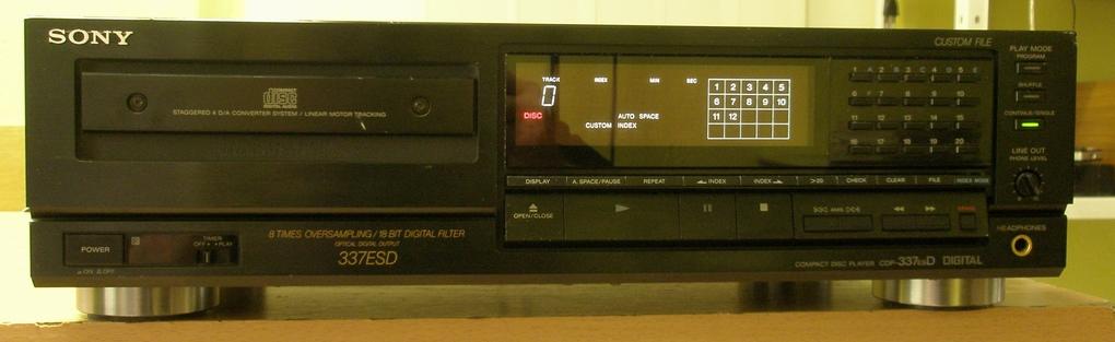 Sony CDP-337ESD
