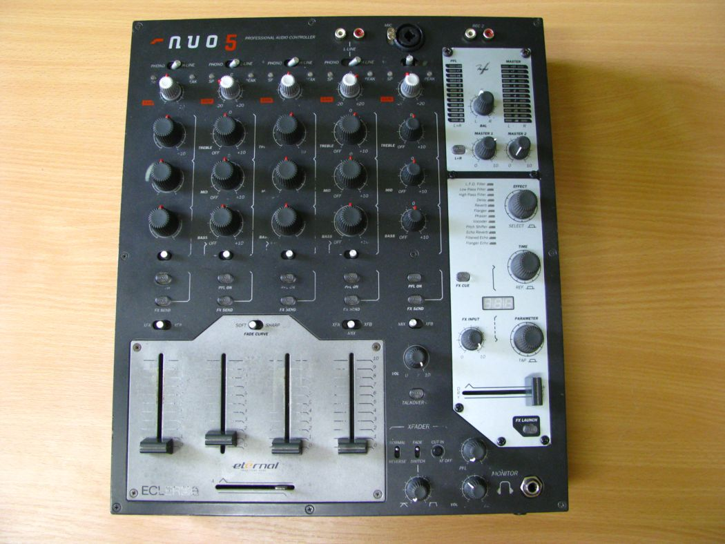 Pro a DJ technika - Ecler