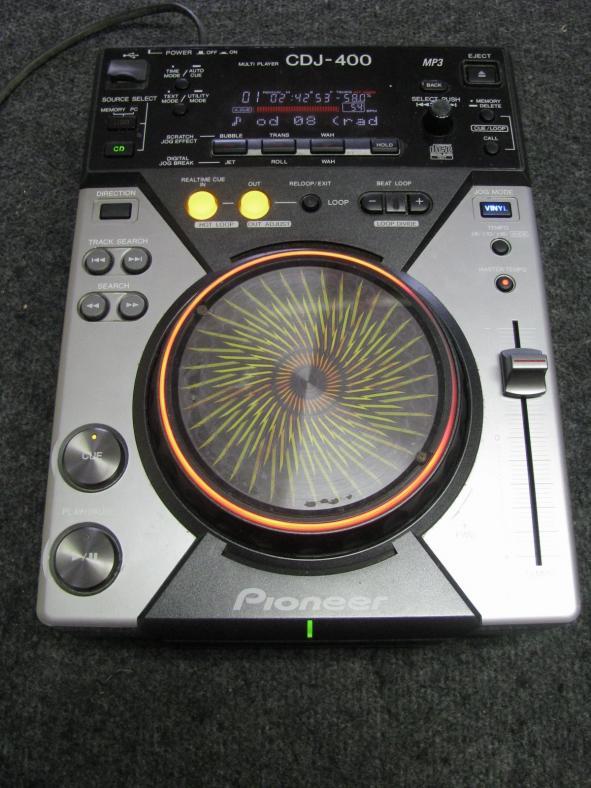 Pioneer CDJ 400_5