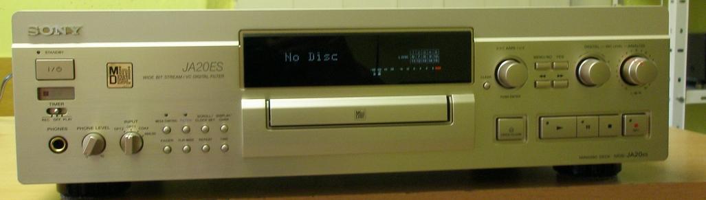 Sony MDS-JA20ES