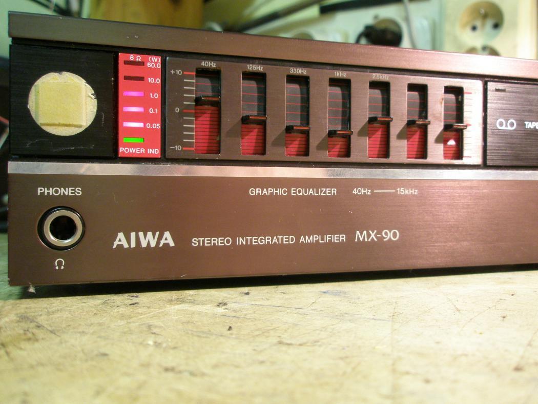 Zosilňovače a AV recievery AIWA
