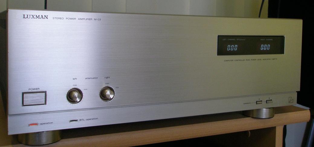 Luxman M-3
