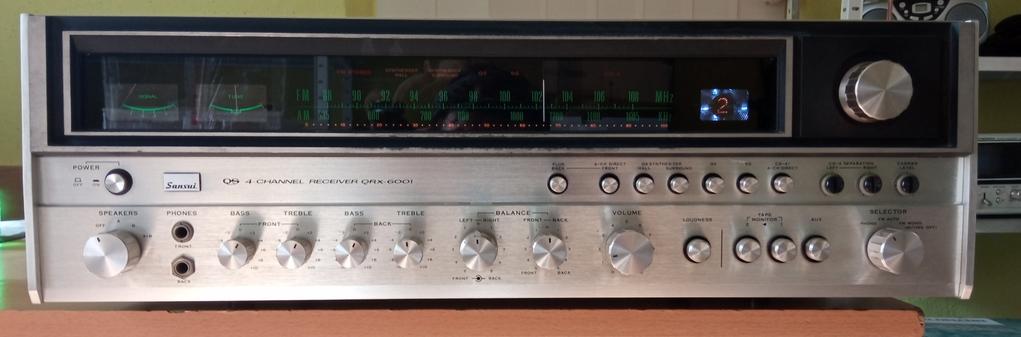 Sansui QRX-6001