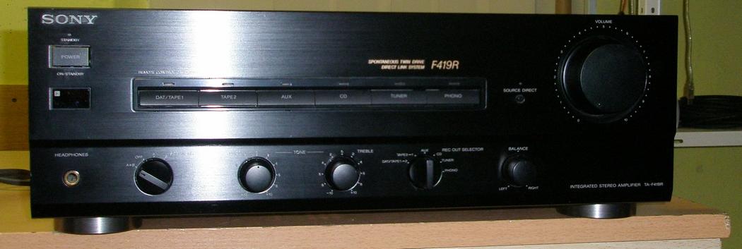 Sony TA-FA 419R