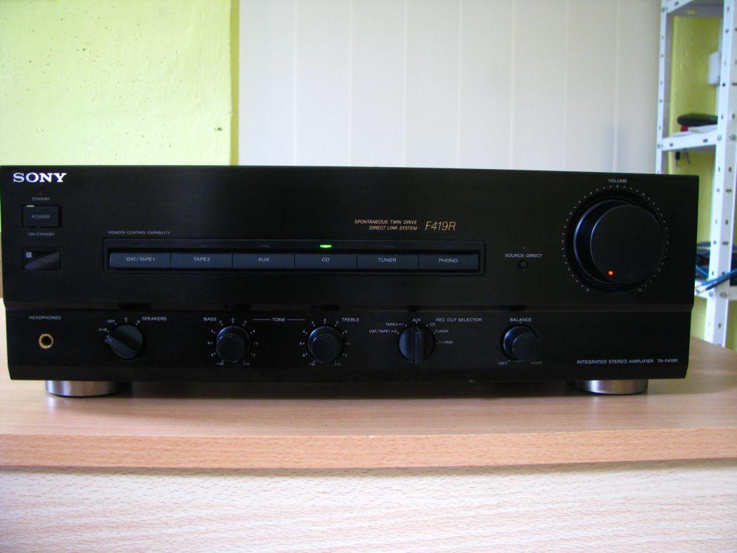 zosilňovače a av receivery - Sony
