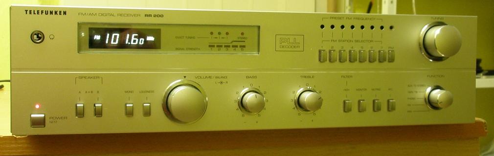 zosilňovače a av receivery - Telefunken