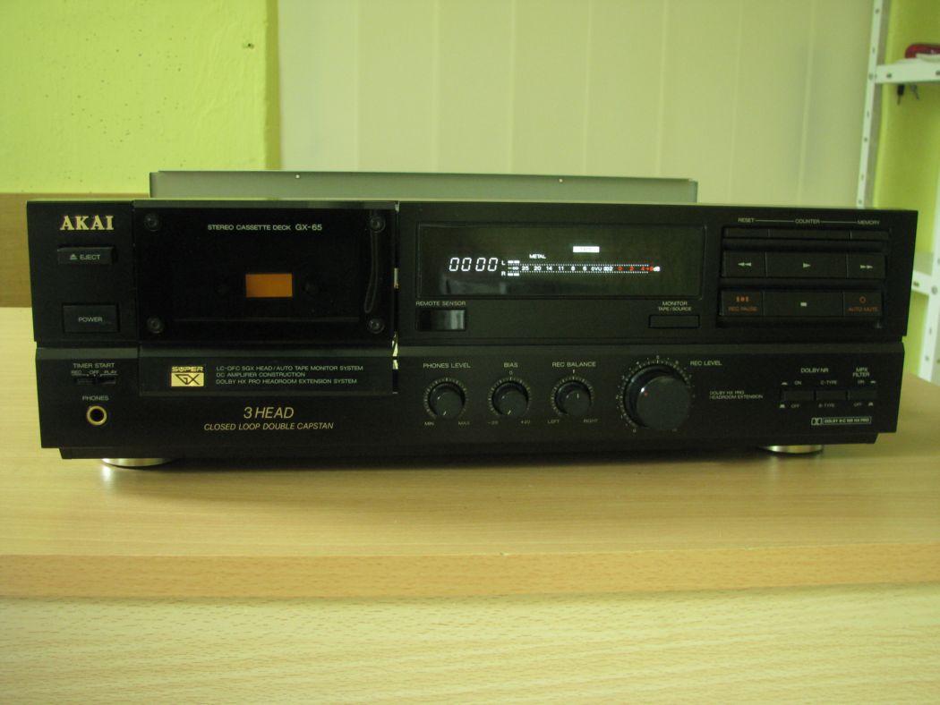 tape decky - Akai