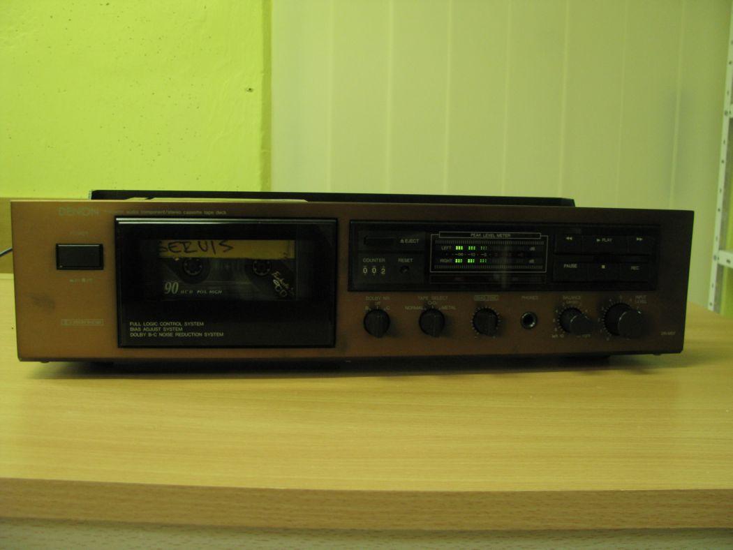 tape decky - Denon