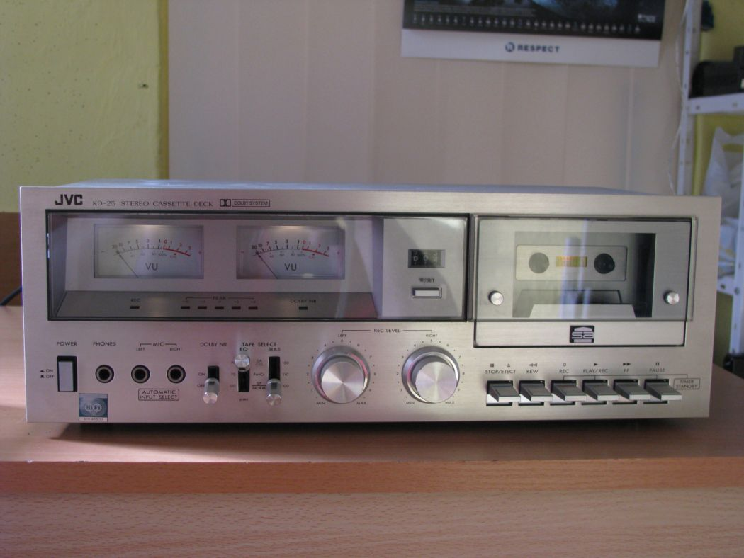 tape decky - JVC