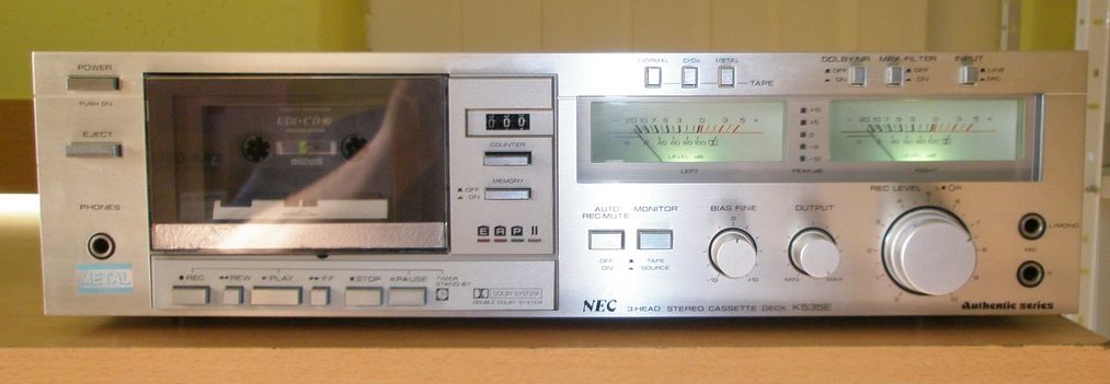 tape decky - NEC
