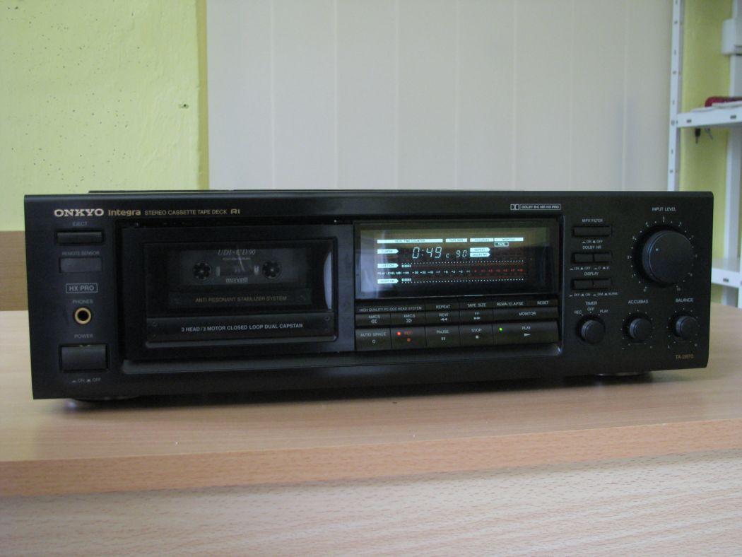 tape decky - Onkyo