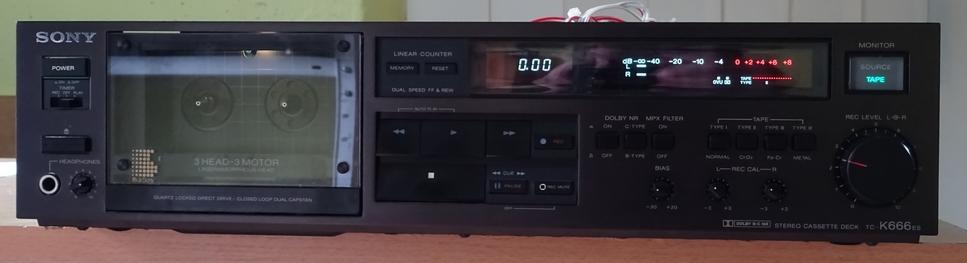 Sony TC-K 666 ES