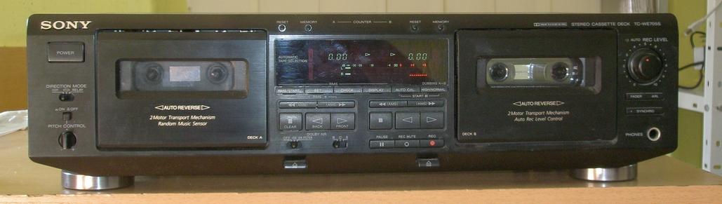 Sony TC-WE 705E