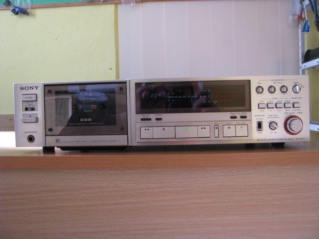 tape decky - Sony